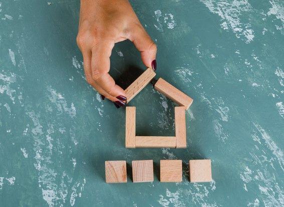 división horizontal de una vivienda